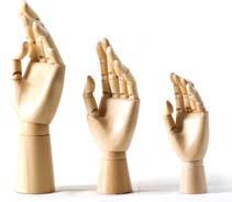 MANIKIN HAND 20CM
