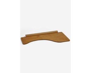 EASEL TRAY WITH BRUSH HOLDER