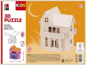 3D PUZZLE DREAM HOUSE