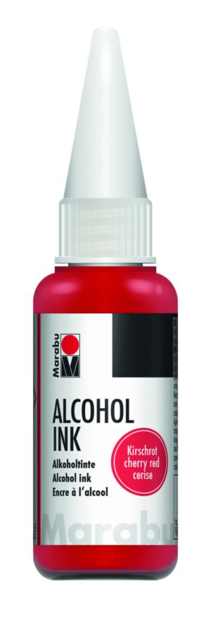ALCOHOL INK 20ML CHERRY RED