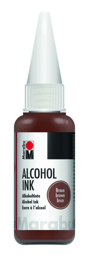 ALCOHOL INK 20ML BROWN