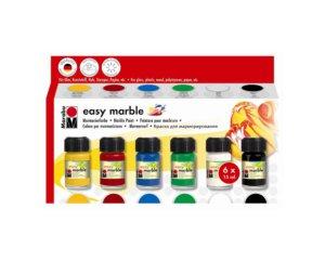 MARABU EASY MARBLE SETS 6X15ML
