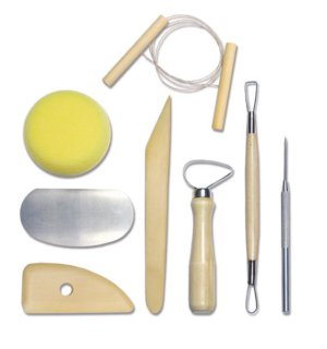 COMPLETE POTTERY TOOL SET X8