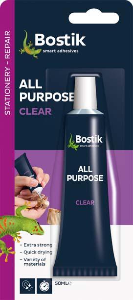 BOSTIK CLEAR NO.1 LARGE 50ML