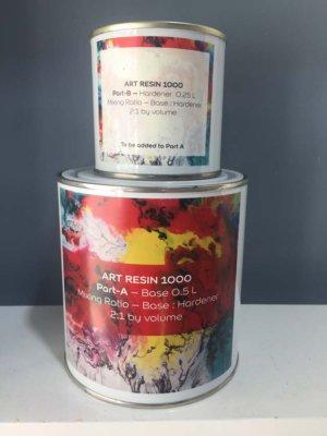 ART RESIN A+B 750ML